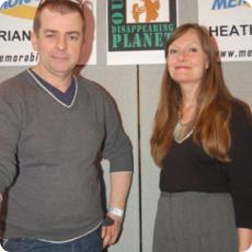 Adrian Hall and Heather Ripley